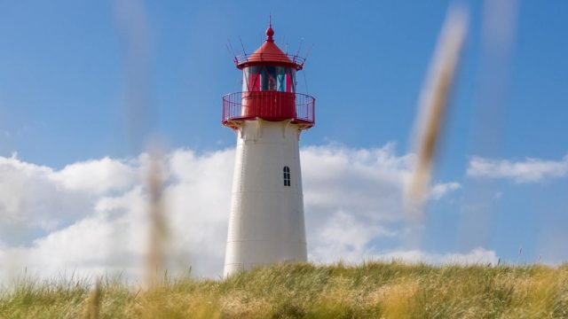 Sylt private jet lighthouse