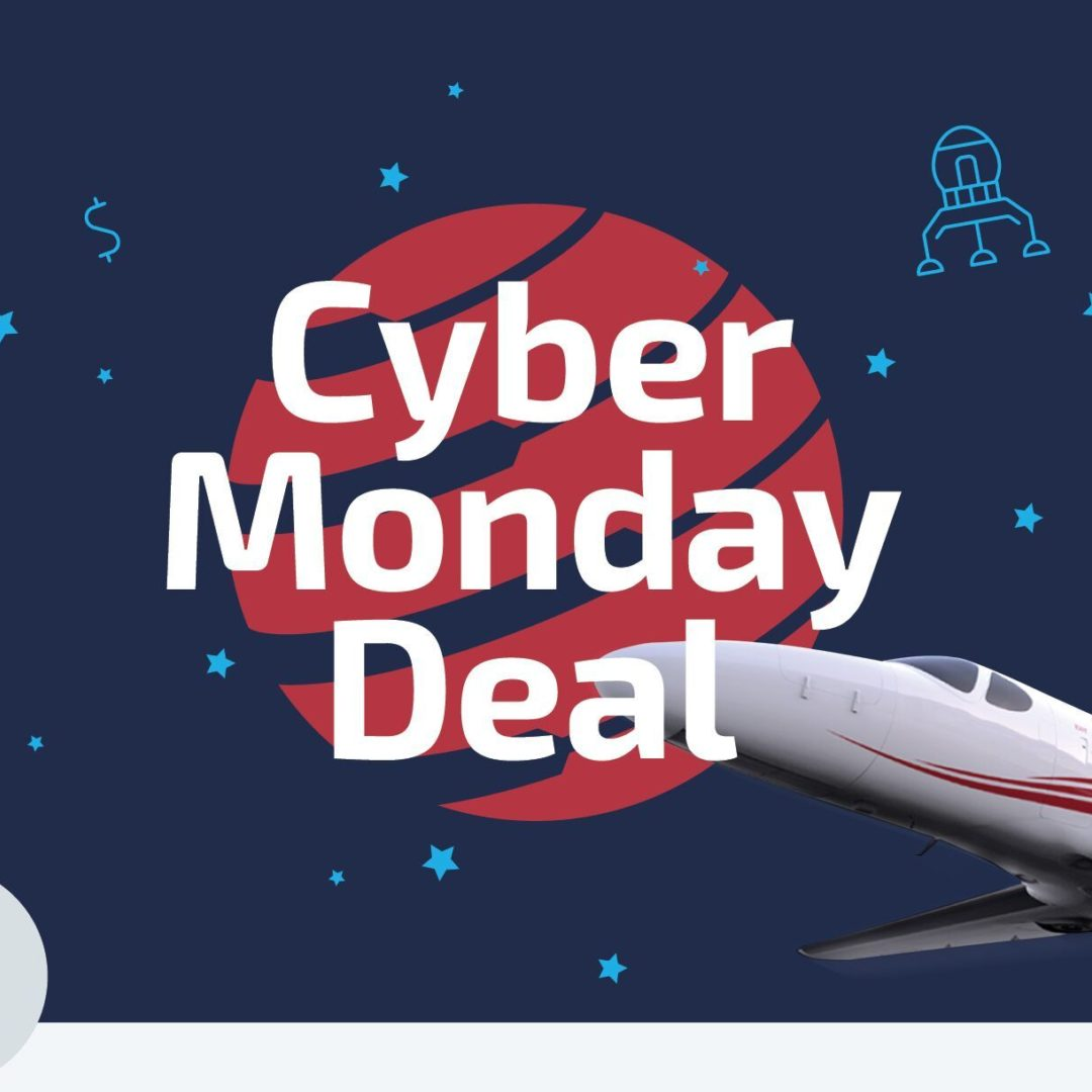 Online Cyber Monday Deal by GlobeAir