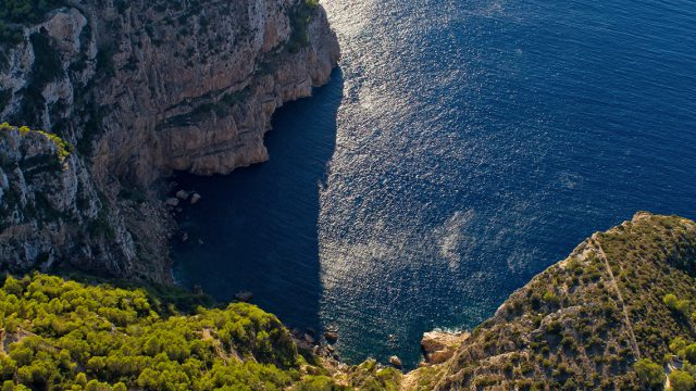 Ibiza hideaway cliff view